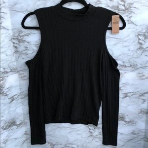 American Eagle Cold Shoulder Sweater Top